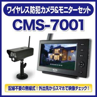ワイヤレス防犯カメラ&モニターセット - 朝日電器(ELPA)