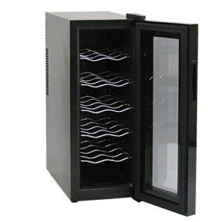 騒音や振動が少ないペルチェ方式 12本収納ワインセラー [BCW-35C] SIS ワインセラー ワイン収納 保管 ペルチェ方式 インテリア 生活家電