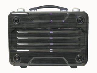 G-BRONCO アタッシュケース B4サイズ ヘアライン 旅行 出張 スーツケース 頑丈