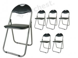 折り畳みパイプイス(椅子) 6脚セット [XY-3037] SIS オフィス 学校 イベント 折りたたみ 会議テーブル、展示会、運動会、各種イベントに!頑丈!収納便利!