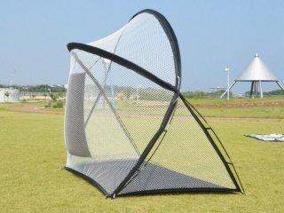 練習用ゴルフネット 収納バック付 [GN008] SIS ゴルフネット 練習用 収納バック付 組立式 固定用ペグ付 スポーツ アウトドア
