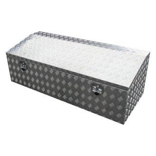 【法人・店舗限定】工具ボックス ATB4-1465 アルミチェッカーボックス アルミ 鍵付き 工具 道具箱