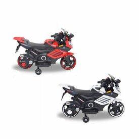 サイレンボタン、クラクションボタン、ミュージックボタンなど豊富な機能ボタン 充電式 電動乗用バイク061 三輪車