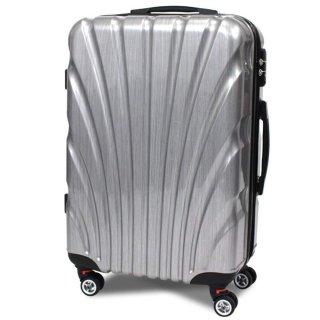 頑丈なABS樹脂、ポリカーボネートが高い耐久性と軽量 スーツケース8009 L 80L [8009-1-L] SIS バッグ キャリーバッグ 旅行