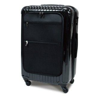軽量設計 耐衝撃性 4輪スムーズ走行 4-7泊の旅行に スーツケース2153 LMサイズ  63L [HL2153-LM] SIS