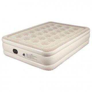 191×137×46cm エアーベッド ダブル[Be-60083] マリン商事 自動でふくらむ しぼむ ふかふかの厚さ 寝具 マット ベッド