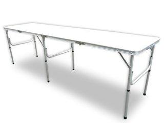 軽量・折り畳み式 ロングアウトドアテーブル [PC1824] SIS アウトドア レジャー 折り畳み式 イベント ロングテーブル バーベキュー BBQ ビーチ 家キャン