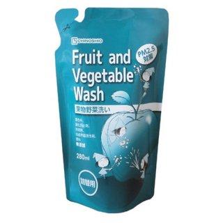 地の塩 Fruit and Vegetable Wash (果物野菜洗い) 詰替用280ml
