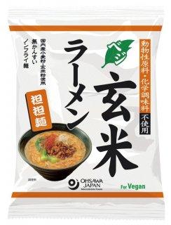 オーサワ ベジ玄米ラーメン 担々麺