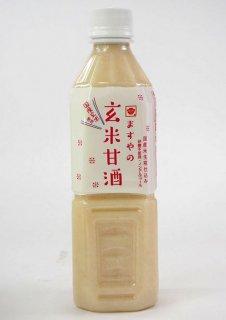 ますや 玄米甘酒(ペット)500ml