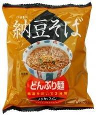 トーエー食品 どんぶり麺納豆そば