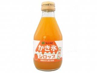 フルーツバスケット かき氷シロップみかん(180ml)