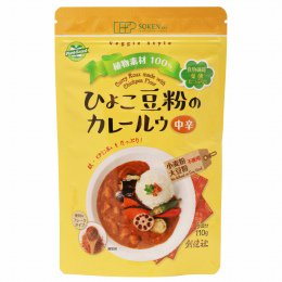 創健社 ひよこ豆粉のカレールウ(フレーク) 110g