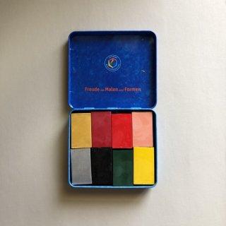 みつろうブロッククレヨン アートカラー(8色缶)