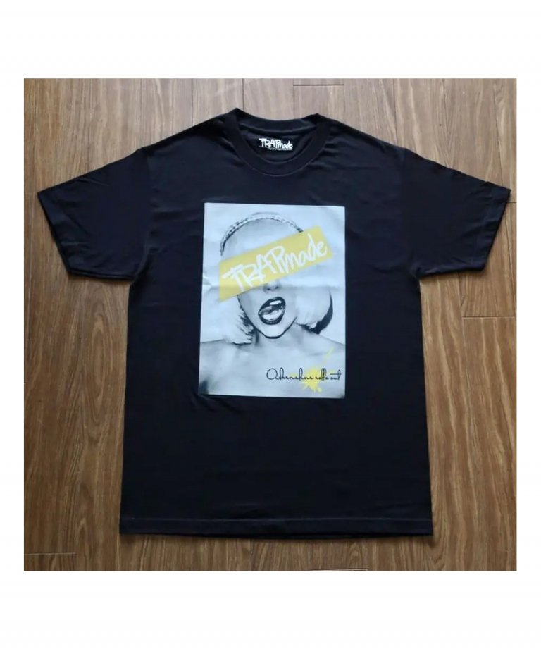 """TRAPmade Reflector photo tee """"type2"""" BLK"""