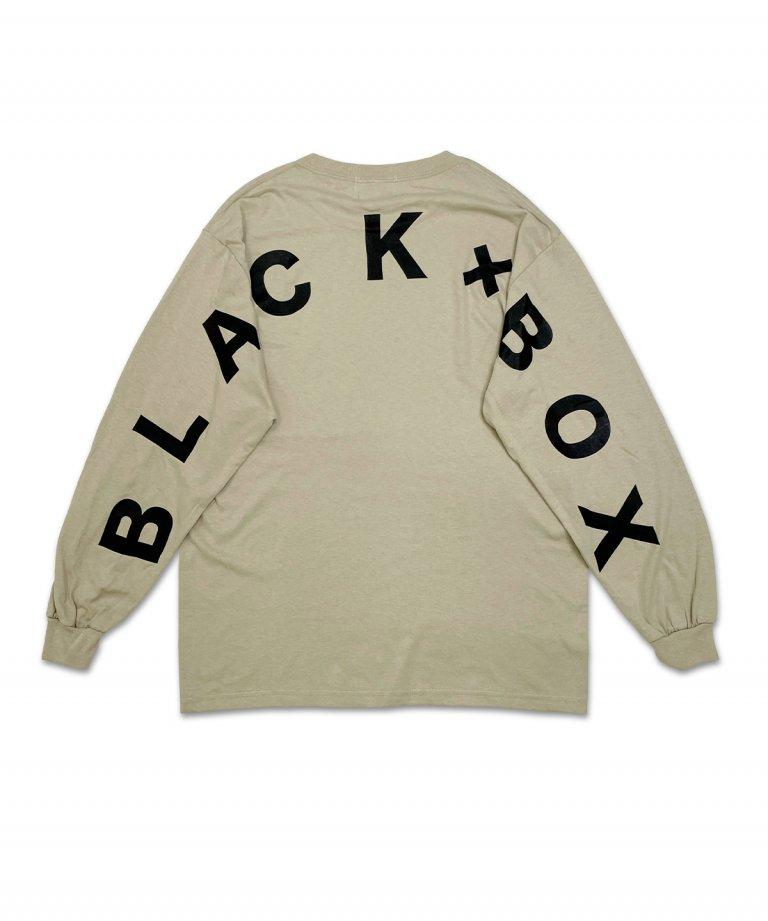 <img class='new_mark_img1' src='https://img.shop-pro.jp/img/new/icons5.gif' style='border:none;display:inline;margin:0px;padding:0px;width:auto;' />【9月26日18:00発売開始】BLACK×BOX Arch LOGO Long T-shirts.BEG