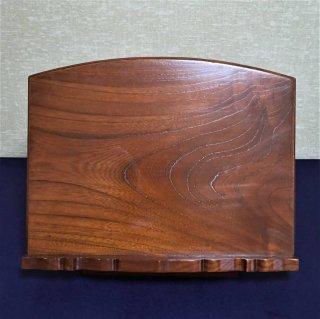 携帯用 折畳見台 卓上用見台 1尺3寸 欅製