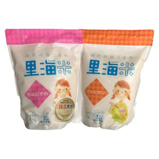 晴れの国うまれ里海米「きぬむすめ」「コシヒカリ」セット 無洗米(合計4kg)