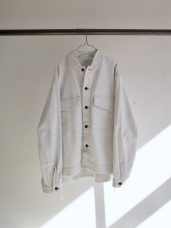 <img class='new_mark_img1' src='https://img.shop-pro.jp/img/new/icons20.gif' style='border:none;display:inline;margin:0px;padding:0px;width:auto;' />[40%OFF]SNOW DENIM SHIRT JACKET