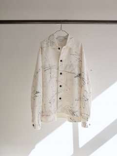 <img class='new_mark_img1' src='https://img.shop-pro.jp/img/new/icons20.gif' style='border:none;display:inline;margin:0px;padding:0px;width:auto;' />[40%OFF]DRAWING SHIRT JACKET
