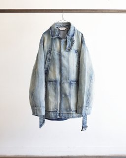 <img class='new_mark_img1' src='https://img.shop-pro.jp/img/new/icons47.gif' style='border:none;display:inline;margin:0px;padding:0px;width:auto;' />AGING DENIM HALF JACKET