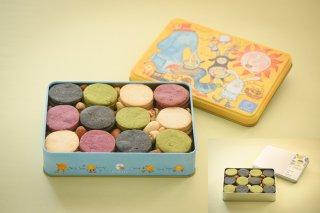 和乃芽米粉クッキー4種 大 & 和乃芽米粉クッキー炭&桑 大