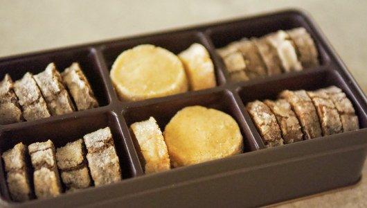 3種のクッキー缶<br> 【オリジナル・チョコ山椒・ほうじ茶】
