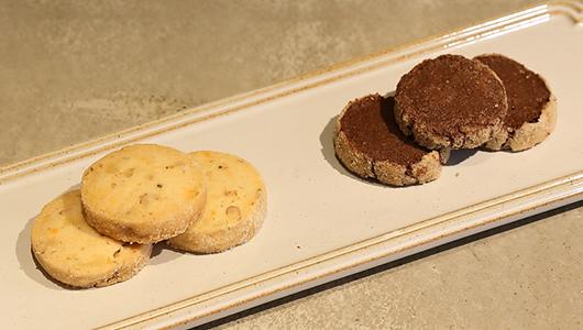 缶入りクッキー チョコ山椒&ラムレーズン