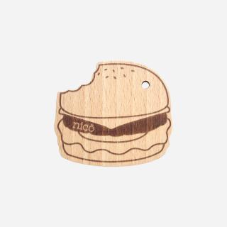 nicoハンバーガー歯固め