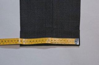 メンズパンツ裾幅詰め|パンツシルエット変更