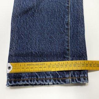 デニム裾幅詰め|デニム テーパード 裾幅
