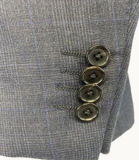 メンズジャケット袖丈詰めアキミセ ミシンセッパ4センチ以上|袖丈詰め アキミセ仕様
