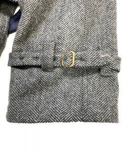 メンズ・レディースコートベルト付き|コートの袖口ベルト移動 袖丈詰め トレンチコート