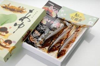 人吉球磨産 鮎の甘露煮・きくらげ煮セット