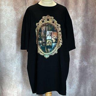 【microcosm】アーカイブ BIGTシャツ 醜形恐怖症 ブラック