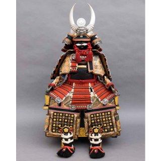 大越忠保作 1型印伝仕様限定品 武田信玄公黒・赤鎧