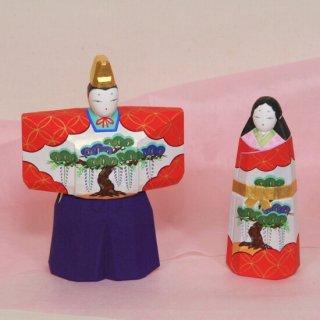 立雛(6寸紫袴)