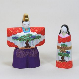 立雛(7寸紫袴)