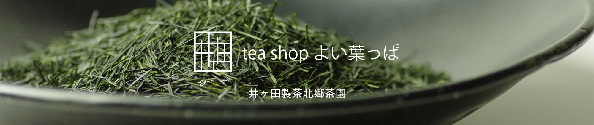 緑茶 ほうじ茶 釜炒り茶の通販|日本茶専門店 井ヶ田製茶北郷茶園