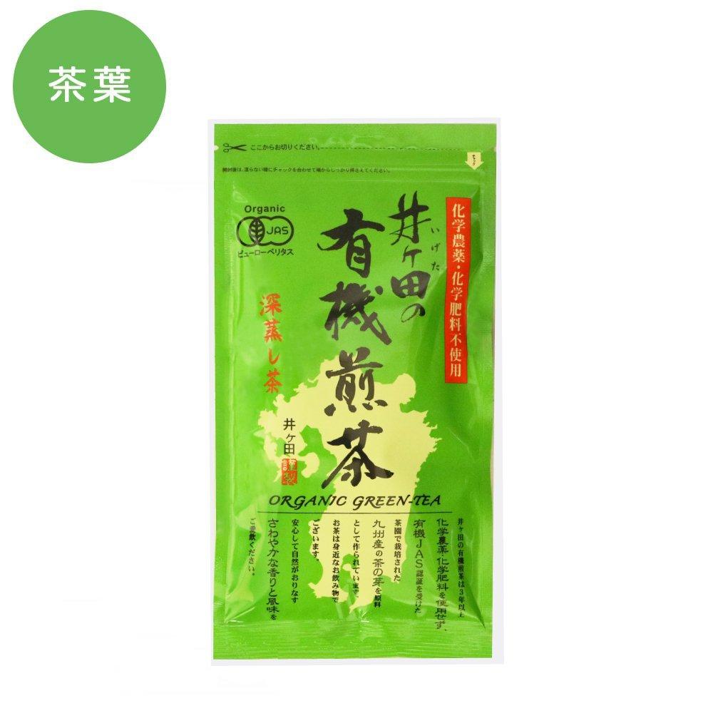 井ヶ田の有機煎茶 緑 100g