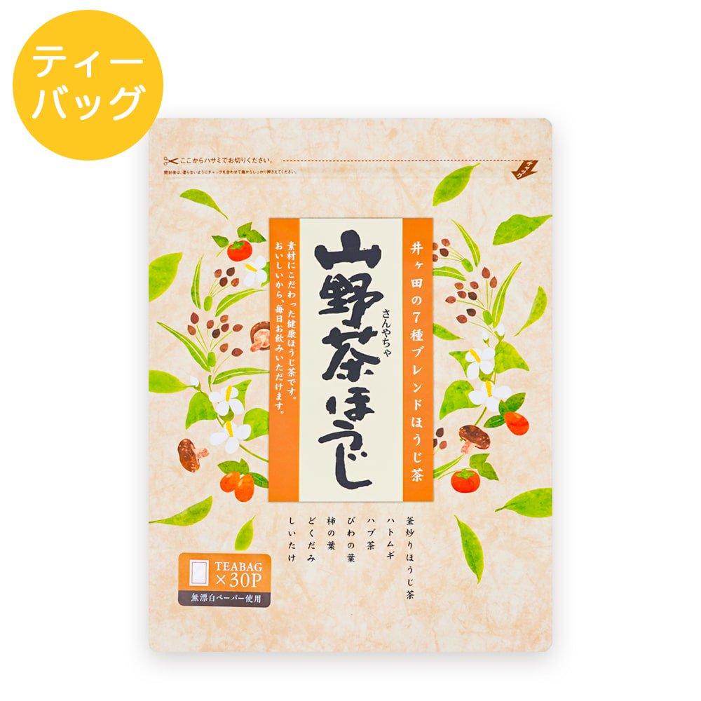 山野茶ほうじ ティーバッグ 6g×30p