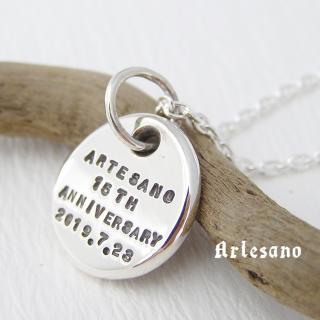 メモリアルペンダント -S- *Artesano*