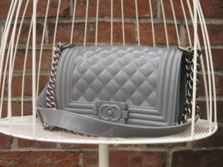 TheDelight JELLY QUILTING CHAIN BAG(ジェリー キルティング チェーン バッグ)GREY