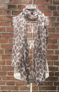 TheDelight LEOPARD STOLE(レオパード ストール)BROWN