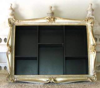TheDelight antique cabinet silver(アンティーク 小物入れ)シルバー