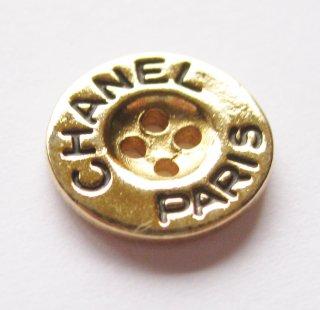 389 CHANEL VINTAGE(シャネル ヴィンテージ)COCO マーク ボタン ゴールド