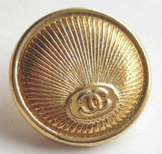 468-1 CHANEL(ヴィンテージ シャネル) COCOマーク ボタン ゴールド