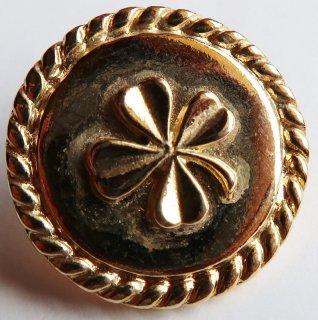 525 CHANEL VINTAGE (シャネル ヴィンテージ) クローバーマーク ボタン ゴールド