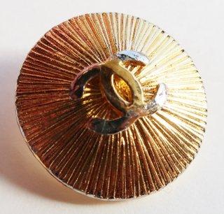 548 CHANEL VINTAGE (シャネル ヴィンテージ)COCOマーク デザイン ボタン ゴールド