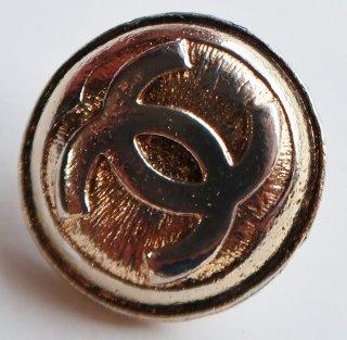 552 CHANEL VINTAGE(シャネル ヴィンテージ)COCO マーク デザイン  ボタン ゴールド